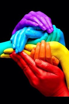 Over the Rainbow Hands sèrie, We love colours Happy Colors, True Colors, All The Colors, Vibrant Colors, Colorful, Taste The Rainbow, Over The Rainbow, World Of Color, Color Of Life