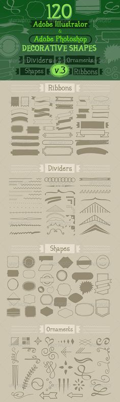120 Handwritten Decorative Shapes 03 - http://graphicriver.net/item/120-handwritten-decorative-shapes-03/5232534?ref=cruzine