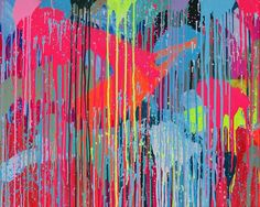 Rowena Martinich - abstract painting