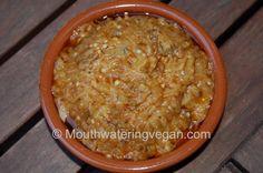 Moroccan Smoked Eggplant (Aubergine) Dip