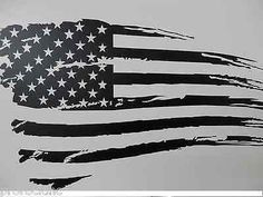 Rustic American Flag Decal,Windshield decal, Ford, Chevy, Harley, Dodge, Truck
