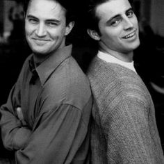 Chandler and Joey :-)