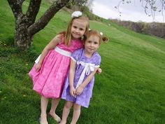 PACountryCrafts: Isabelle's Bubble Dress Tutorial