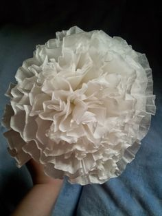 Make It: Coffee Filter Flowers/Carnations - Tutorial #papercrafts