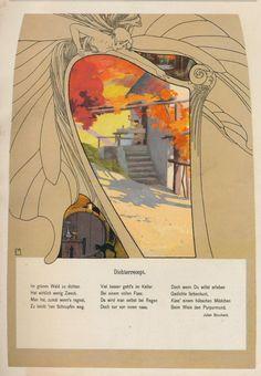 www.theviennasecession.com/artists-2/mila-von-luttich/ Vienna Secession, Academic Art, Antique Books, Art Decor, Art Nouveau, Modern Art, Graphic Design, Gallery, Illustration