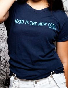 J!NX : The Totally Rad Show Nerd is the New Cool Women's Tee - Clothing Inspired by Video Games & Geek Culture