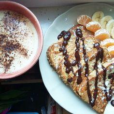Sunday mood  #frenchtoast #fit #healthy ( # @anasofia.insta )