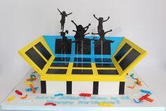 Celebrate with Cake!: Trampoline Park!
