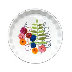Seasons Pie Plate | dotandbo.com #DotandBoDream