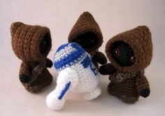Utini! It's the Jawas! - CROCHET.