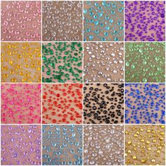 5000 mixed size 4.5+2.5mm Wedding Scatter Table Crystal Diamond Acrylic Confetti