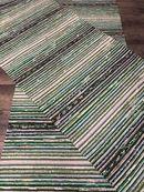 VIHREÄN SÄVYISET RÄSYMATOT Scandinavian Rugs, Rag Rugs, Tear, Woven Rug, Rug Making, Textiles, Rug Weaves, Knit Rug, Scandinavian Area Rugs