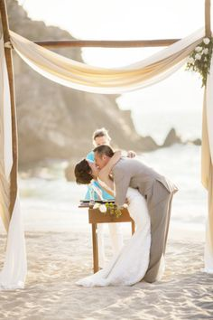 Would you get married on a beach? #wedding