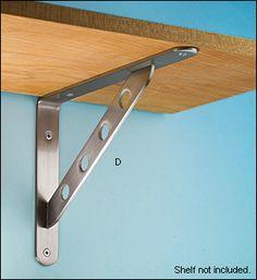 Steel Shelf Brackets - Hardware