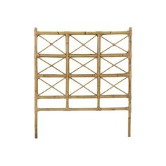 rattan twin bed