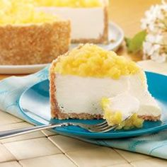 Pina Colada Cheesecake Allrecipes.com