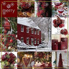 Christmas Collage, Christmas Mood, Noel Christmas, Country Christmas, Christmas Wreaths, Christmas Crafts, Christmas Decorations, Holiday Decor, Christmas Quiz