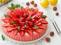 Strudel, Cheesecake, Strawberry, Fruit, Food, Grande, Dessert, Sweet Pie, Pies