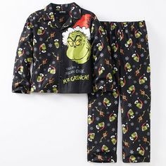 How The Grinch Stole Christmas Pajama Set | #christmas #fashion #style #holiday #xmasfashion #xmas