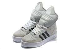 finest selection f365f d8355 Wholesale Discount Adidas X Jeremy Scott Big Tongue Shoes Khaki Black  Fashion Shoes Store