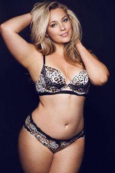 Russian curvy model Marina Bulatkina Muse Models New York