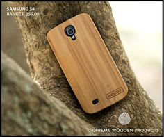 Samsung S4 #bamboo case  #Woodcovers #bamboocover #Samsungcovers  Get yours here: http://www.houdt.co.za/collections/samsung-s4/bamboo-black