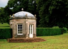 summer house at Kedleston Hall, Derbyshire UK