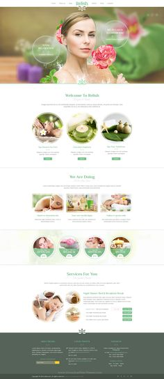 Relish is a elegant multipurpose PSD-template suitable for a wide variety of businesses. It makes the template applicable for Spa salons, Hotels, Vocation sites, personal blog or any other elegant type of sites. #psd #website