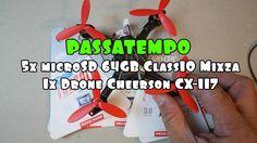 Ganha cartões de memória 64GB Class10 Mixza e um Drone Cheerson CX-117