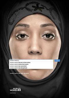 YK:n kampanja näyttää hakutermien avulla mitä maailma ajattelee naisista - Uutiset - Markkinointi&Mainonta