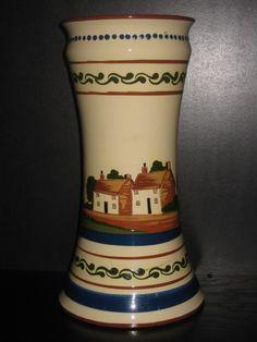 Watcombe Pottery Vase, 12 ins high