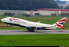 G-BNLO British Airways Boeing 747-400
