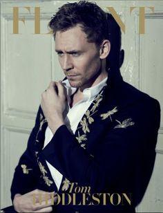 Tom Hiddleston en Alexander McQueen para Flaunt Magazine Abril 2013
