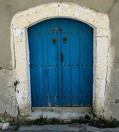 Cyprus, Aradippou, Old House, Door