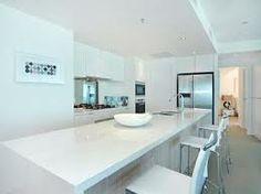 mirror kitchen island - Google Search