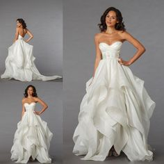 2015 Sheer Boned Wedding Dresses For Spring Summer 2015 Fall Best Bridal Gowns Cheap Flange Ruffle Skirt Beach Backless Vestidos De Novia Online with $131.84/Piece on Sarahbridal's Store   DHgate.com