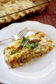 Roasted Butternut Squash and Garlic Enchiladas.