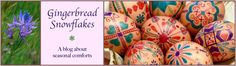 Kool Aid Easter Eggs via Gingerbread Snowflakes