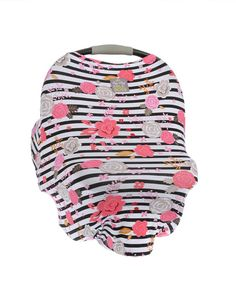 Strollers Accessories Lower Price with Simple Style Breastfeeding Towel Baby Hat Set Multi-function Safety Seat Car Cover Baby Blended Material Car Cover Cloth Mother & Kids
