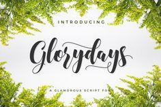 Glorydays - 30% Off by Yipia Nesia on @creativemarket