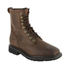 "Ariat Men's Cascade 8"" Lace-Up Work Boots $149 usa"
