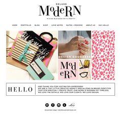 Deluxemodern Design Studio | Website