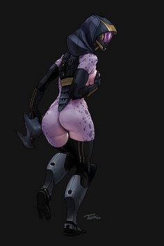 PANDAmonium - geekearth: Tali Exposed - Mass Effect