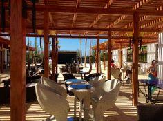 Royalton White Sands Resort: Entertainment area outside of Sports Bar.