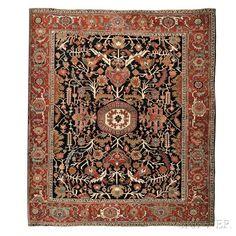 Serapi Carpet - Price Estimate: $10000 - $12000