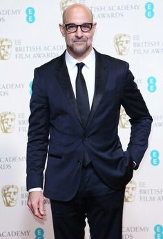 Stanley Tucci - great actor, and always impeccably dressed Lucky Number Slevin, Stanley Tucci, The Lovely Bones, Gq Style, Classic Style, Best Supporting Actor, Beard Styles, Hollywood Stars, American Actors