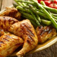 How to Get Lean: 25 Ways to Lose Fat Faster - Reduce Carbs: Eat More Proteins and Fats Best Grilled Chicken Recipe, Best Bbq Chicken, Clean Eating, Healthy Eating, Paleo Diet Food List, Lose Fat Fast, Eating Organic, No Carb Diets, Workout