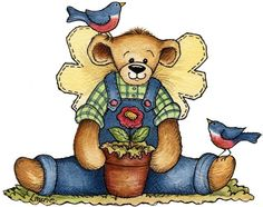 Clip Art From Laurie Furnell | Laurie Furnell - Angelbear (830x655 px)