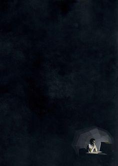 Alone in the night by Belhoula Amir, via Behance