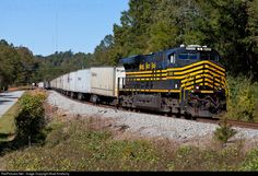 RailPictures.Net Photo: NS 8100 Norfolk Southern GE ES44AC at Barnesville, Georgia by Brad Kindschy